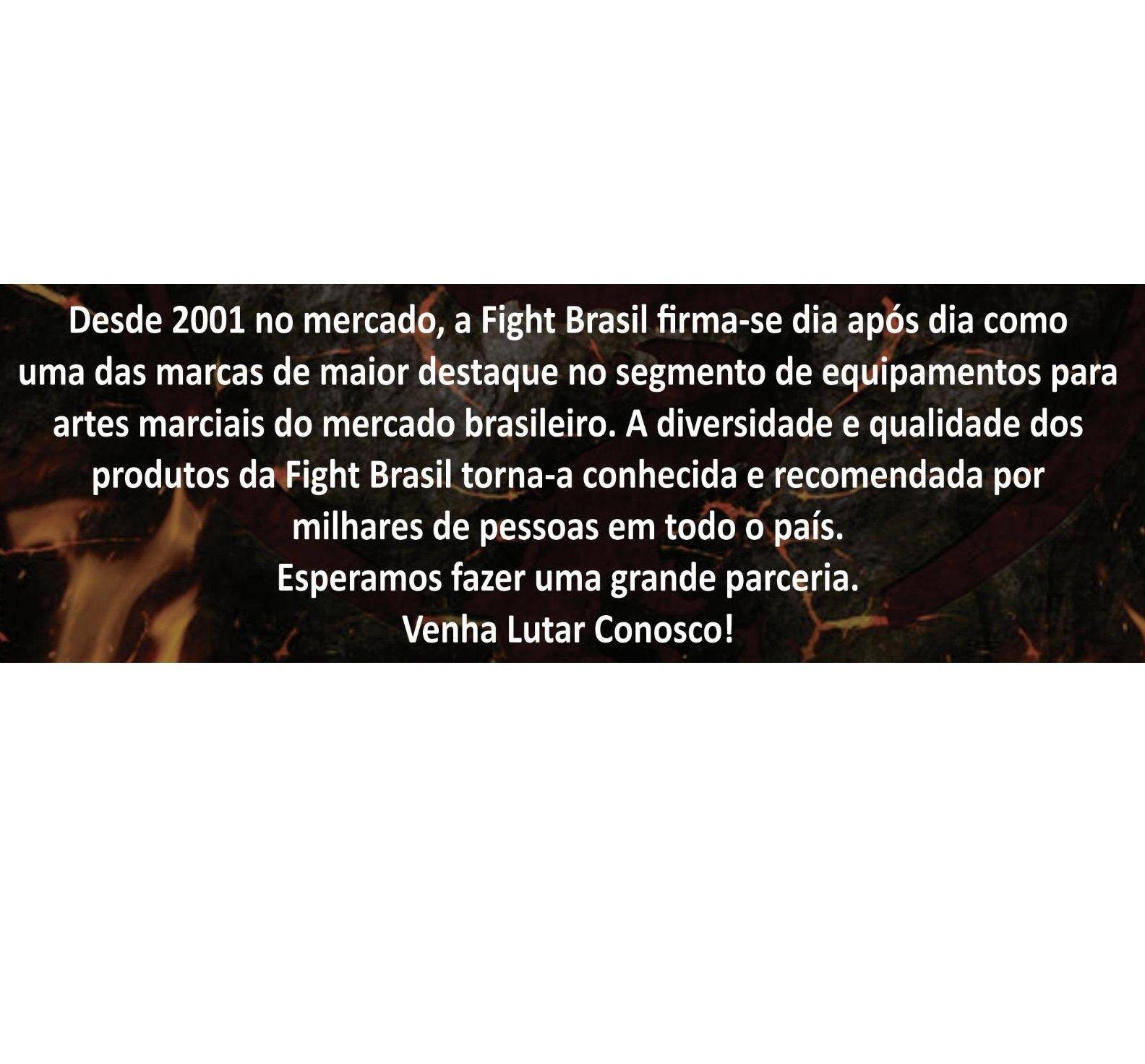 87ded86c1 ... Caneleira de Muay Thai Treino Boxe Marca Fight Brasil com Nf ...