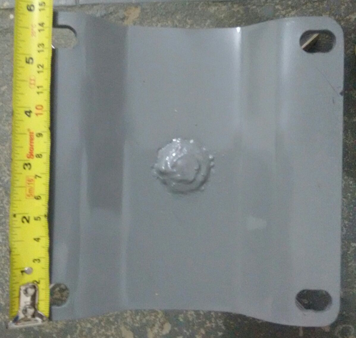 kit 2 Base Giratória Mille em Madeira para Poltrona H40cm