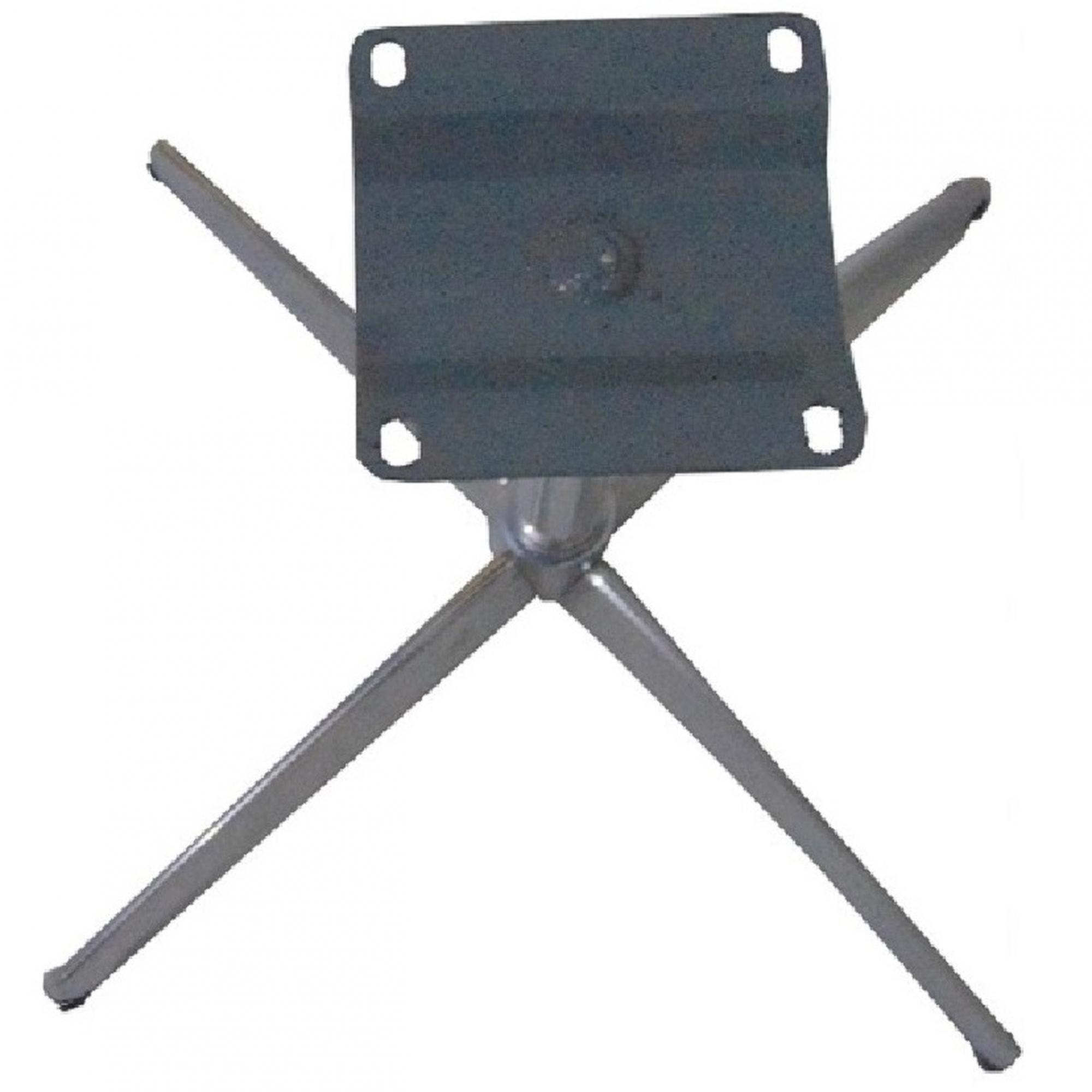 kit 2 Base Giratória Curva em Alumínio para Poltrona H40cm