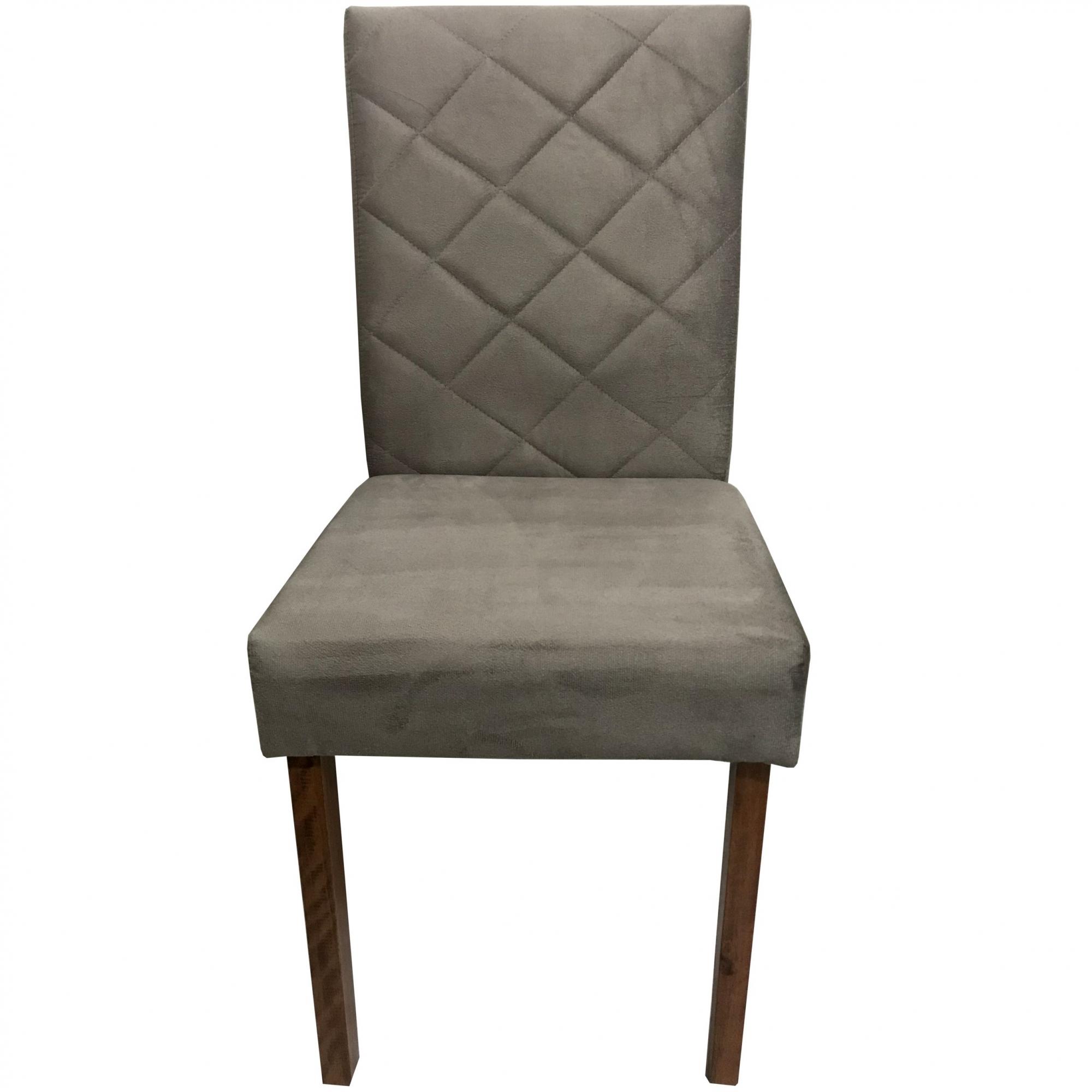 Kit 2 Cadeira para Mesa da Sala de Jantar Estofada Alice