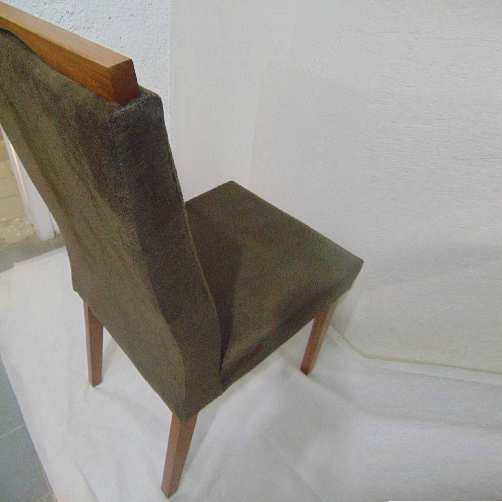 Kit 2 Cadeira para Mesa Sala de Jantar Casa Estofada Letícia