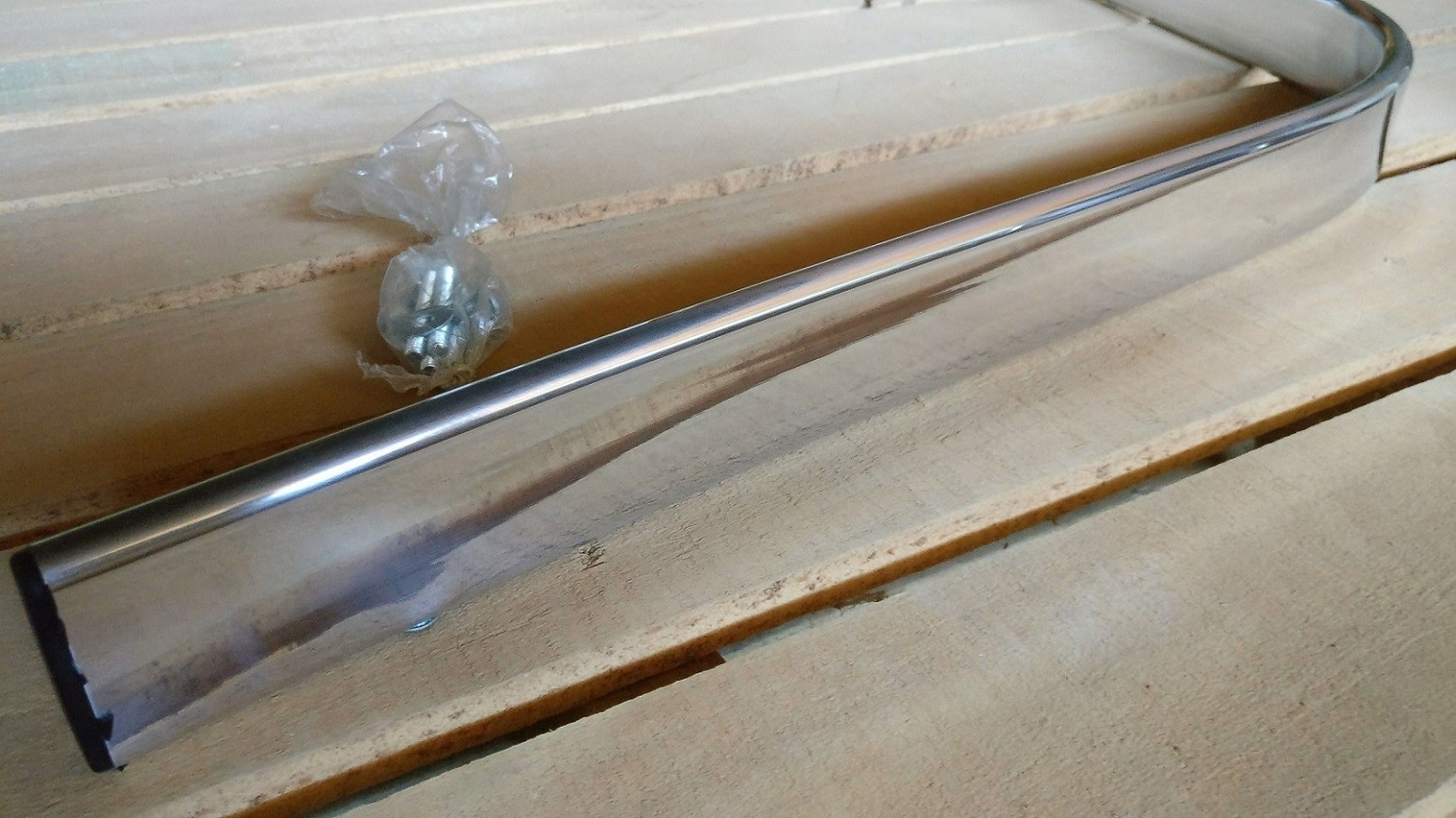 Kit 3 Pares de Braço em Alumínio Com Bucha Para Poltrona
