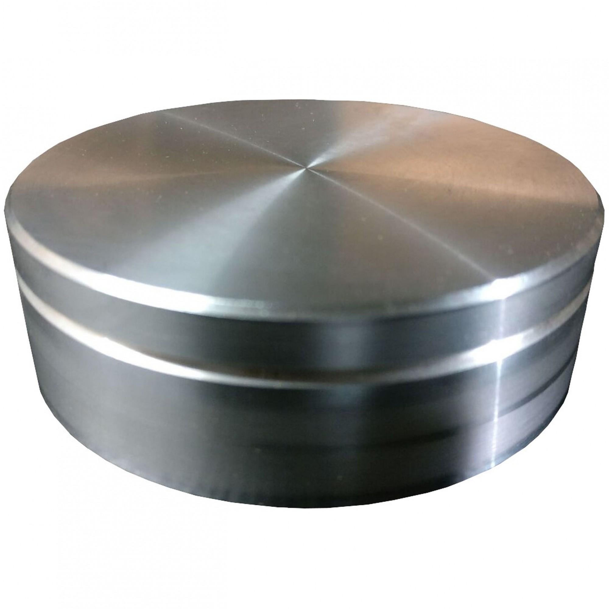 Kit 4 Peças  base prato Giratórias em Alumínio 5cm diâmetro
