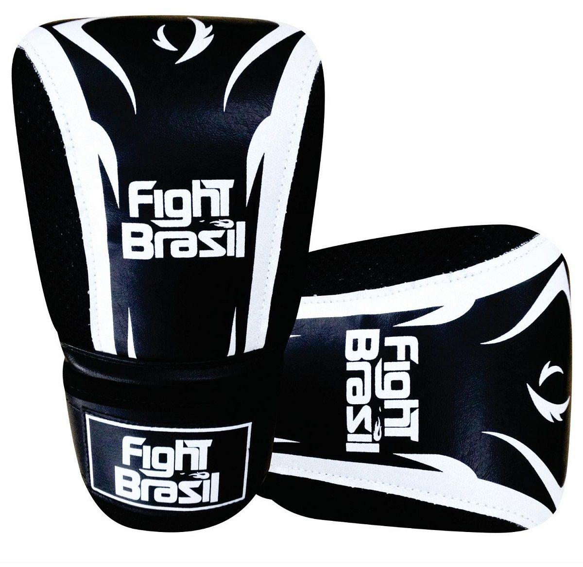 82a901d02 Luva de Bater Saco Treino de Boxe Marca Fight Brasil com NF ...