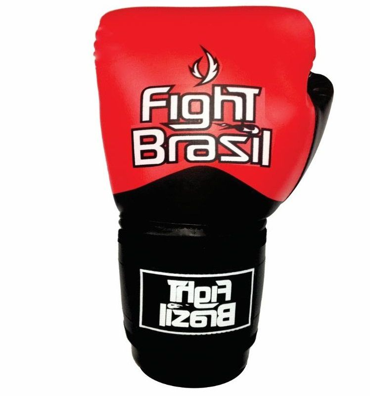 18d588a79 ... Luva Muay Thai e Boxe de Treino Fight Brasil Fbx 1374 com NF ...
