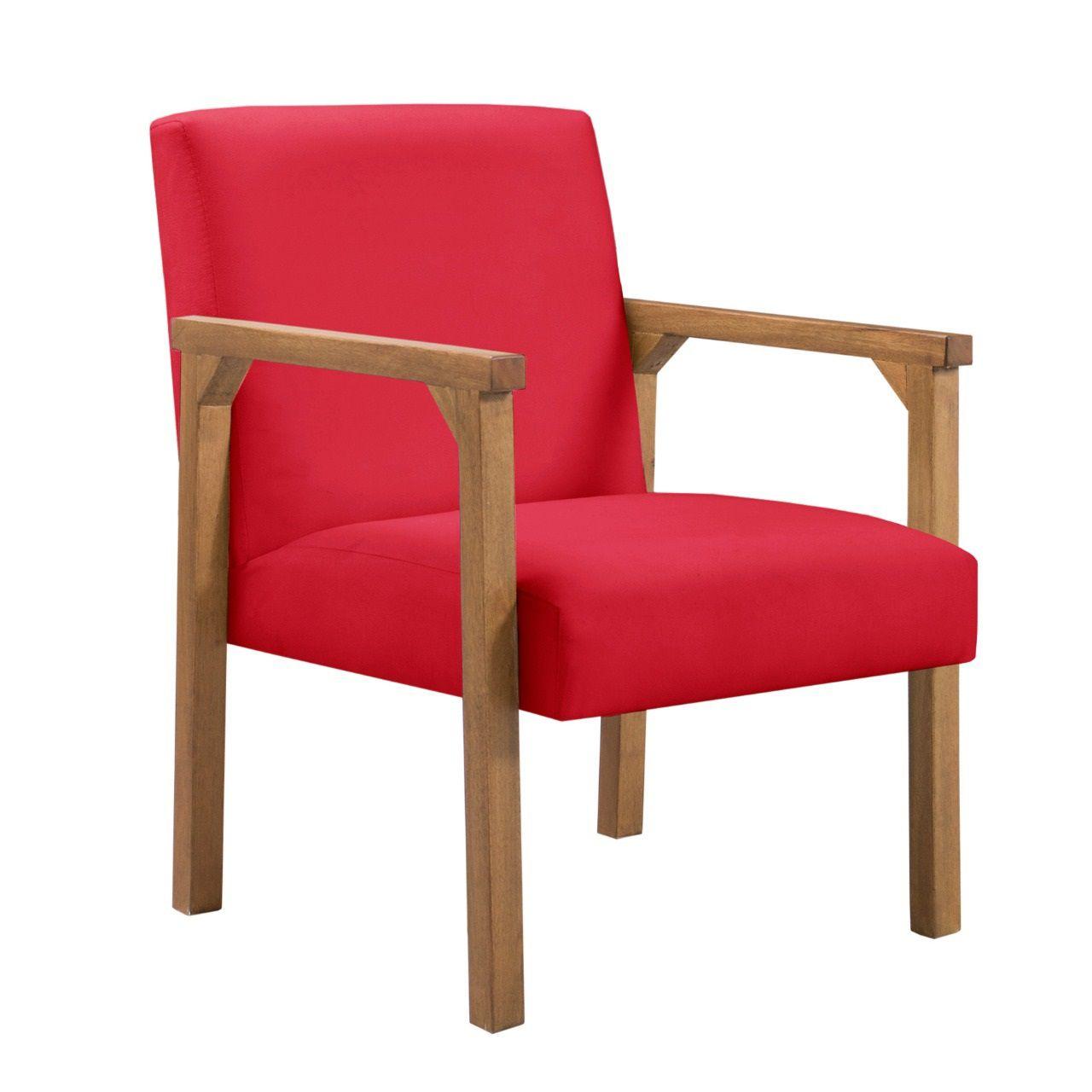 Poltrona Decorativa Jade Cadeira Sala Casa Recepção Quarto