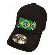 Boné Bordado Bandeira Brasil Simbolo Exercito Brasileiro