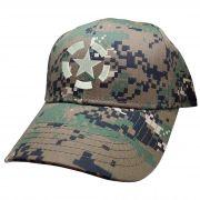Boné U.S Army Simbolo Exercito EUA USA Militar Camuflado Digital