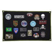 Patch Wall Display Expositor Coleção Patch Bordado - 60x40