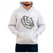 Moletom Bordado Masculino Simbolo Logo Desenvolvedor Programador