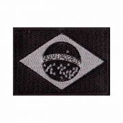 Patch Bordado - Bandeira Brasil Negativa BD50046-109