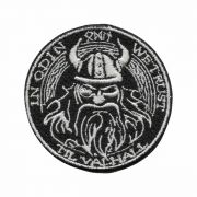 Patch Bordado - Deus Nórdico Guerra Viking Odin DV80804-48