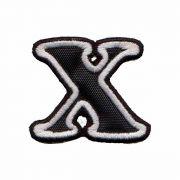 Patch Bordado - Letras Alfabeto Letra x DV80537-419