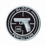 Patch Bordado - Logo Simbolo Marca Glock DV80073-336