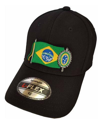 Boné Bordado Bandeira Brasil Simbolo Exercito Brasileiro  - Talysmã Bordados