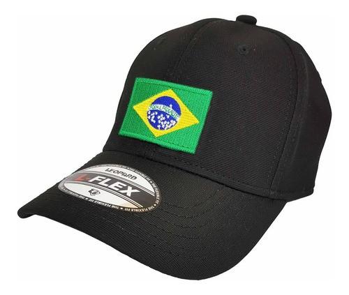Boné Bordado Bandeira Do Brasil - Brasileira Pequena  - Talysmã Bordados