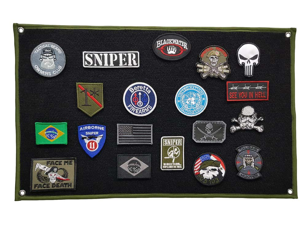 Patch Wall Display Expositor Coleção Patch Bordado - 60x40  - Talysmã Bordados