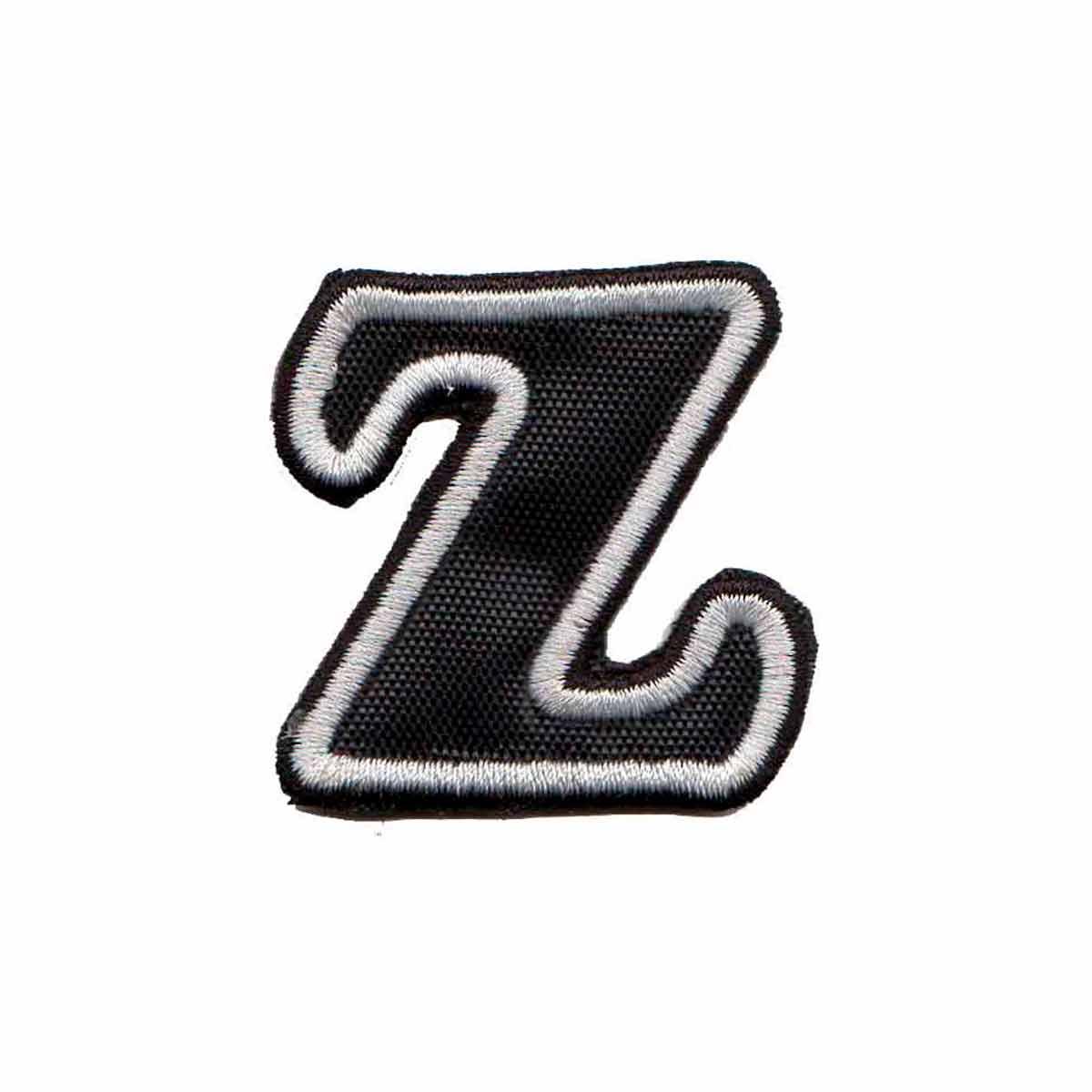 Patch Bordado - Letras Alfabeto Letra Z DV80539-419  - Talysmã Bordados