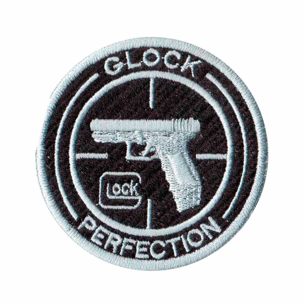 Patch Bordado - Logo Simbolo Marca Glock DV80073-336  - Talysmã Bordados