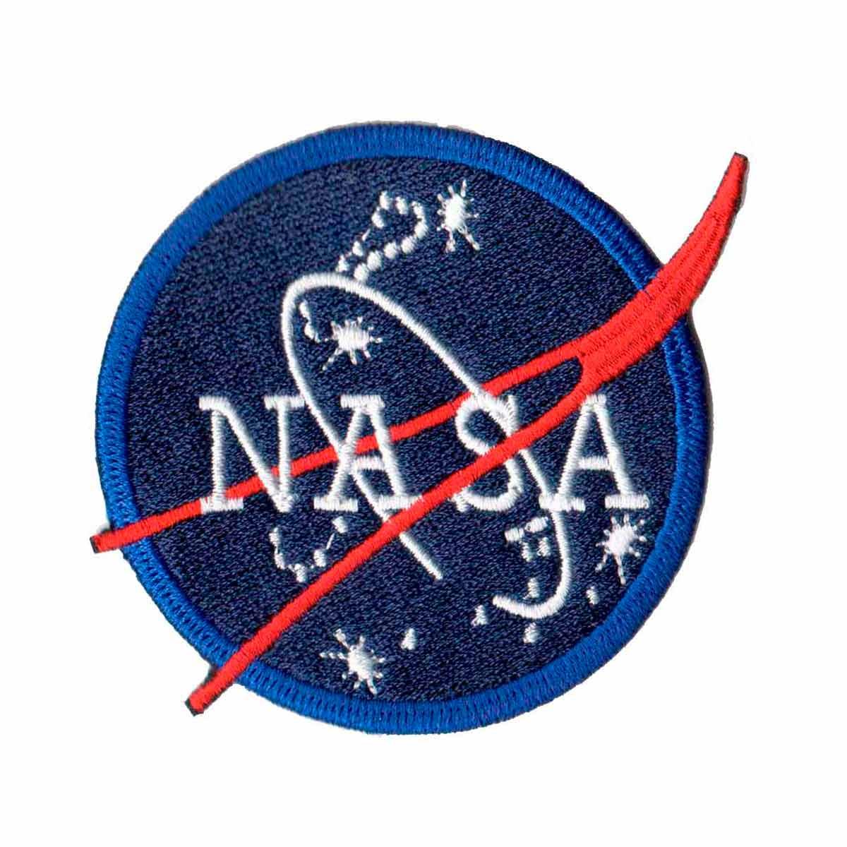 Patch Bordado - Logo Simbolo Nasa Tradicional AV20075-142  - Talysmã Bordados
