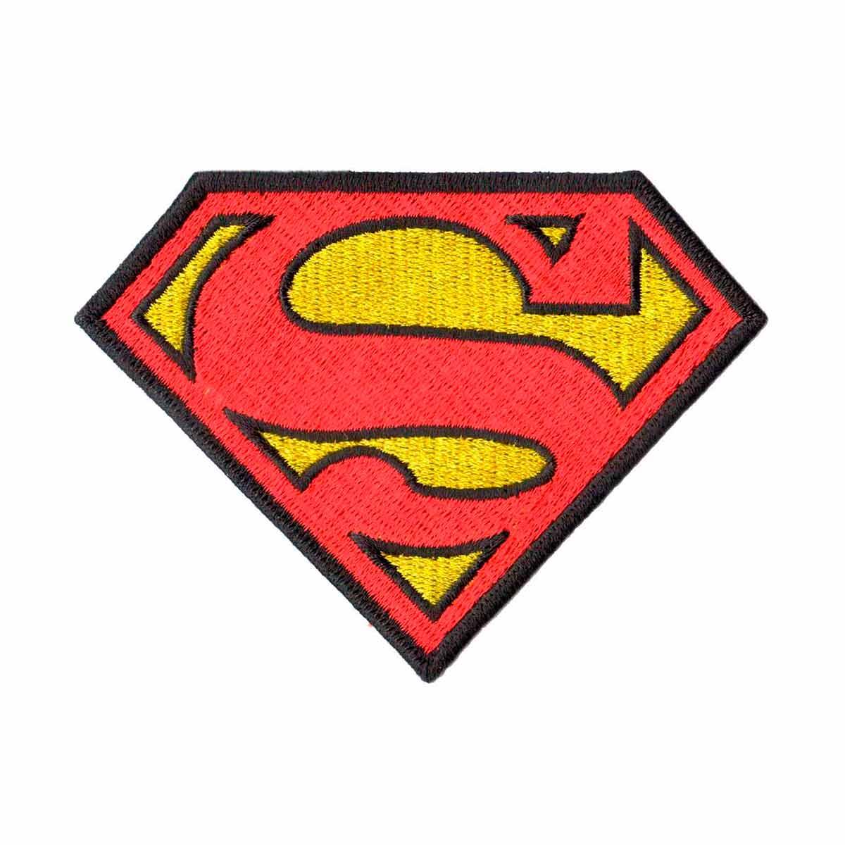Patch Bordado - Super Homem Superman DV80279-279  - Talysmã Bordados
