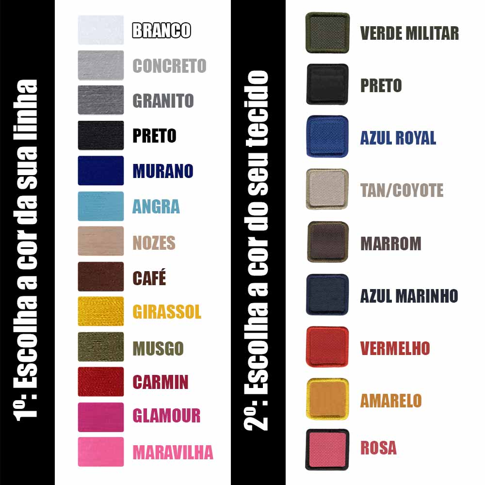 Tarja Personalizada Seu Nome Texto E Tipo Sanguíneo  - Talysmã Bordados