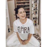 Camiseta - Pronta para Relaxar - Pijama