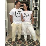 Kit Pijama Challot Hadock - Amor e Abraço