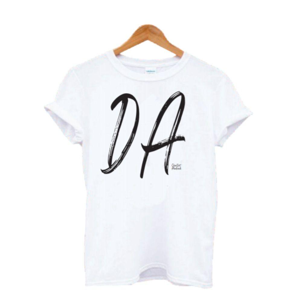 """Camiseta - Amor - """"DA"""" - Pijama"""