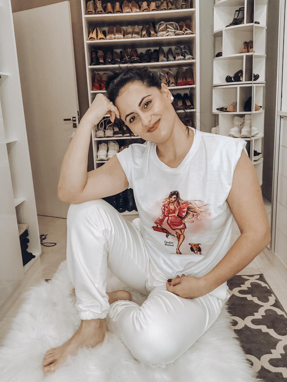 Camiseta - Pronta para Sonhar - Pijama