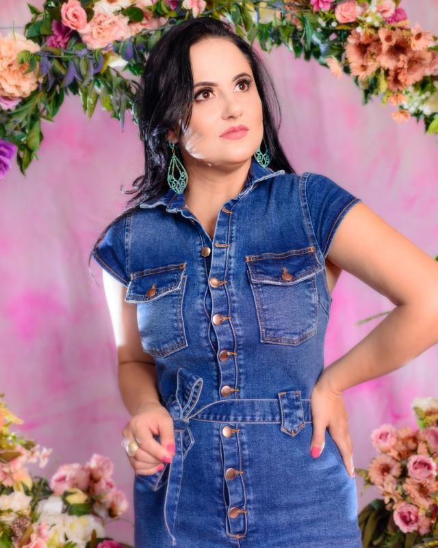 Vestido Graziela  - Challot Hadock