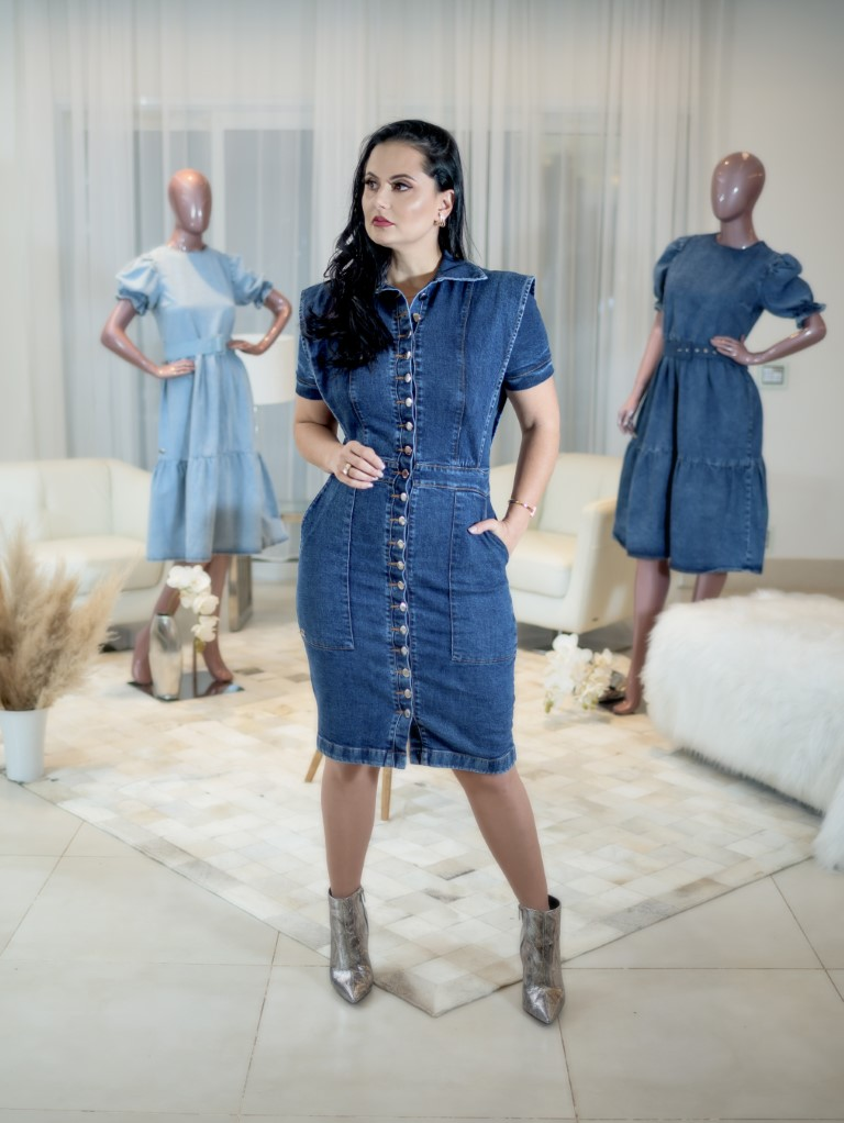 Vestido Iolanda  - Challot Hadock