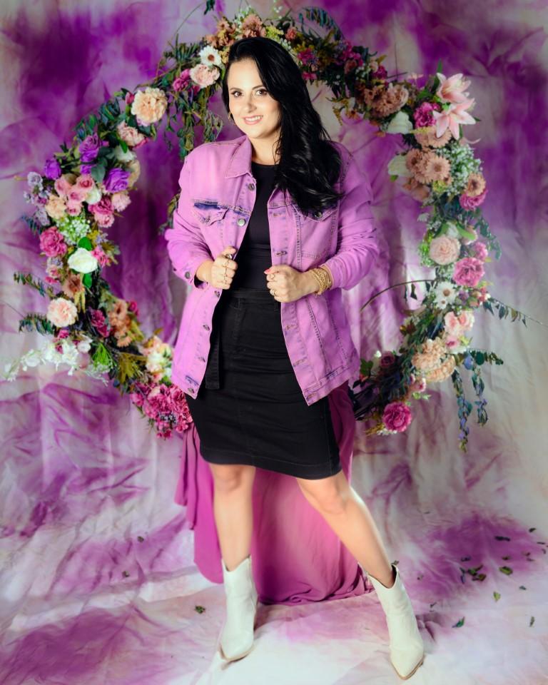 Jaqueta Violet  - Challot Hadock