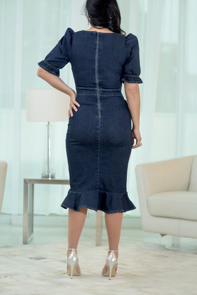 Vestido Isaura  - Challot Hadock