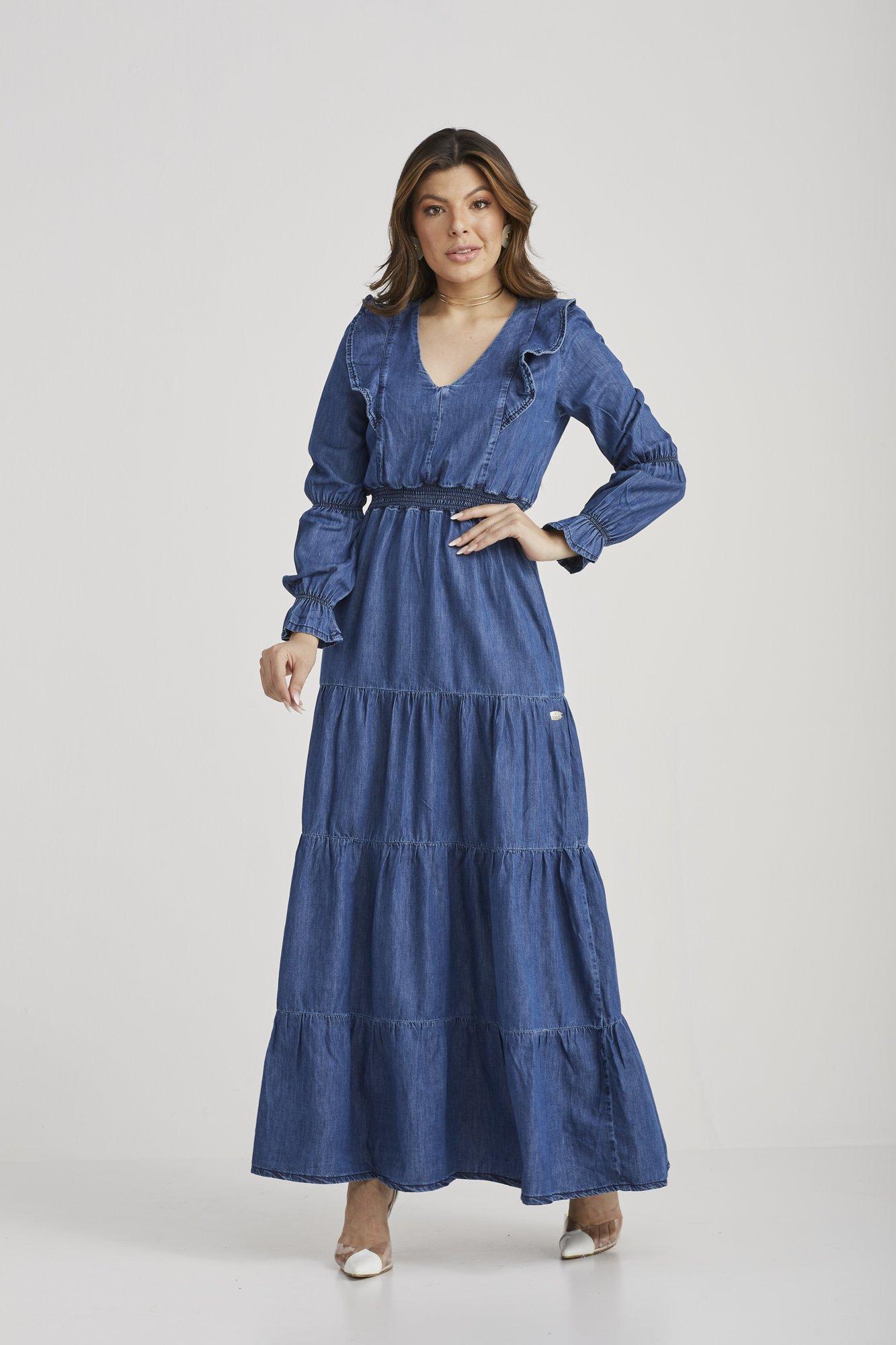 Vestido Karem  - Challot Hadock