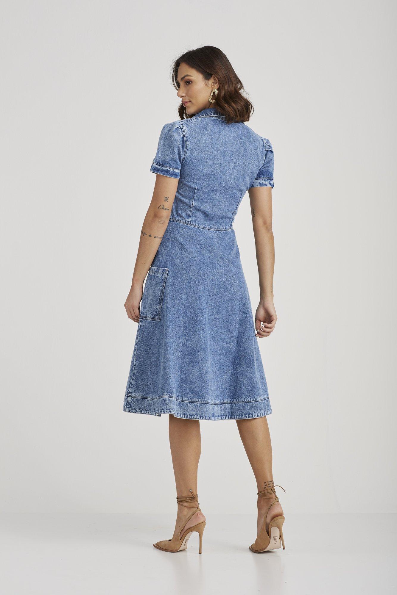 Vestido  Melinda  - Challot Hadock