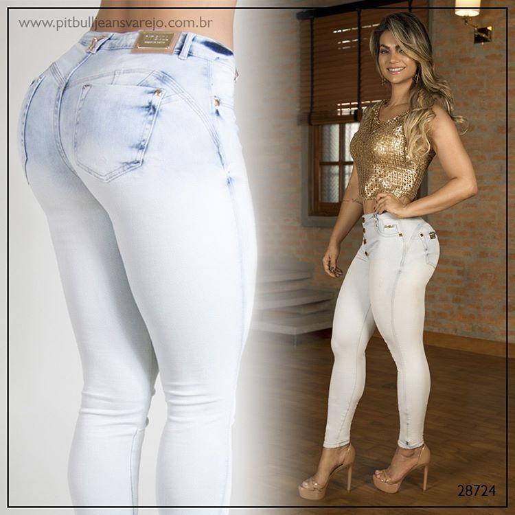 c2111ab60 Calça feminina Pit Bull Jeans com bojo Ref. 28724