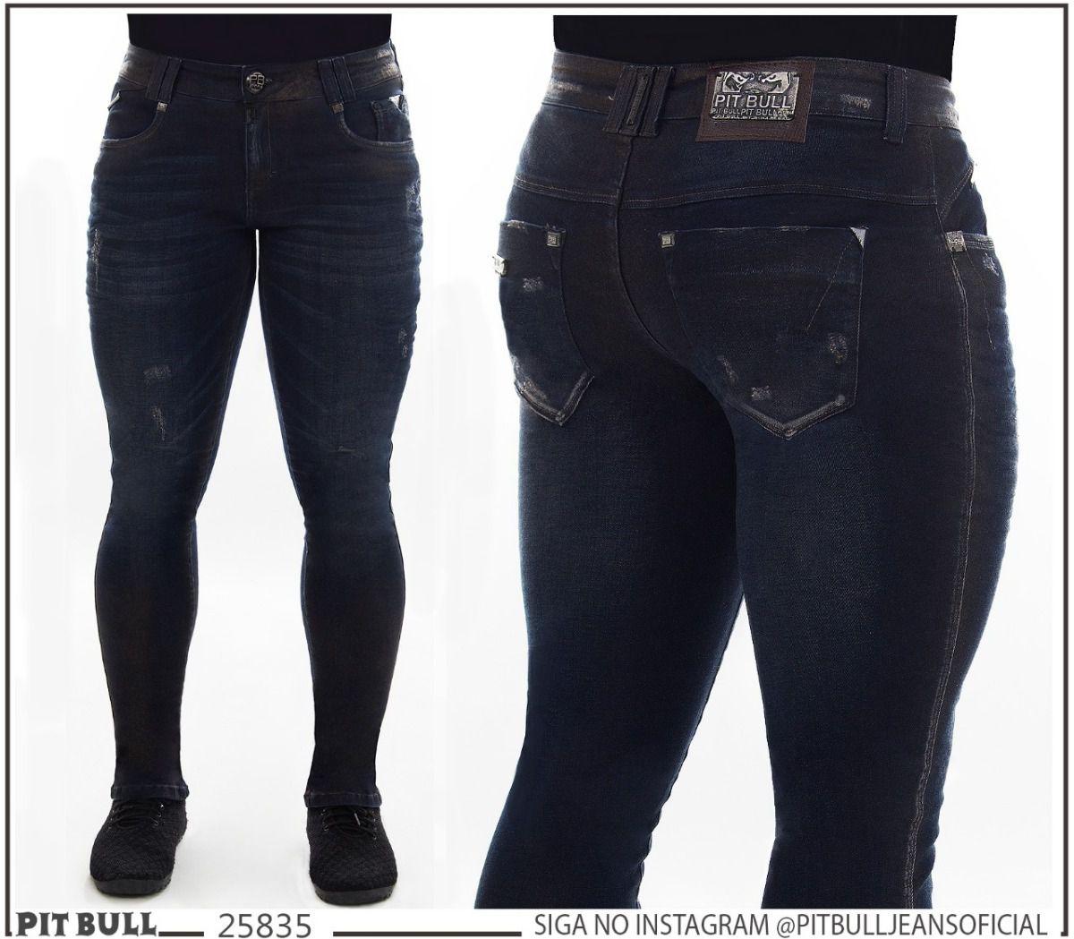 130ba2e98 Calca masculina super slim Pit Bull Jeans Ref. 25835