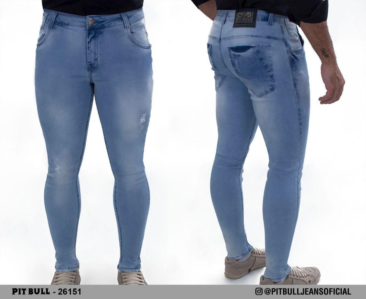 c0ad85ca0 Calca masculina super slim Pit Bull Jeans Ref. 26151