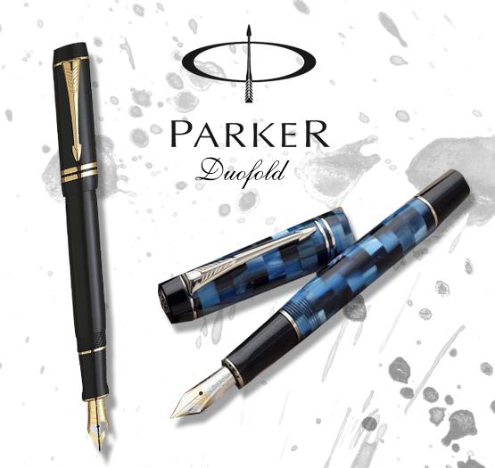 caneta tinteiro parker duofold