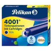 Cartucho de Tinta Pelikan 4001 TP/6 Azul Royal