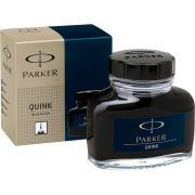 Vidro de tinta Parker azul negro original para caneta tinteiro 57 ml
