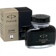 Vidro de tinta Parker negro original para caneta tinteiro 57 ml