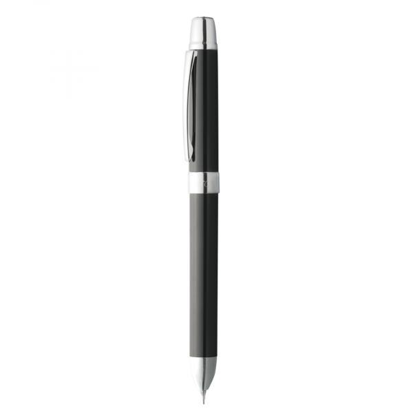 Caneta Compactor Plástica Tri Pen Preta