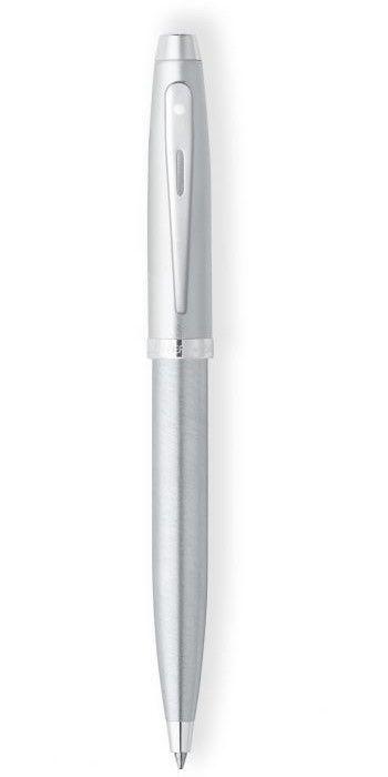 Caneta Sheaffer Gift 100 Esferográfica Cromada Escovada