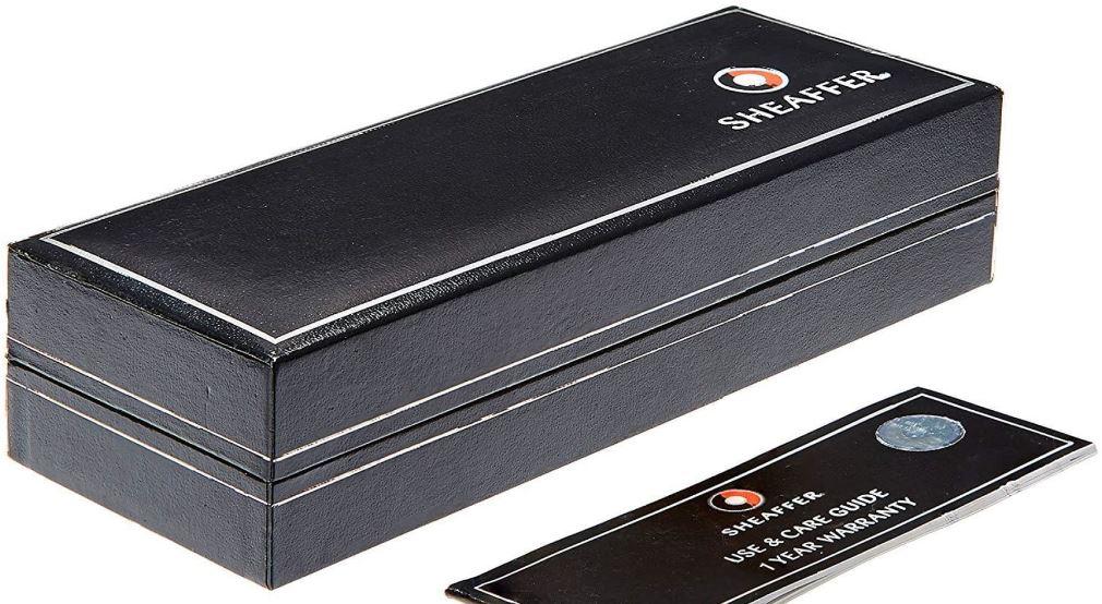 Caneta Sheaffer Gift 100 Tinteiro Aço Escovado CT