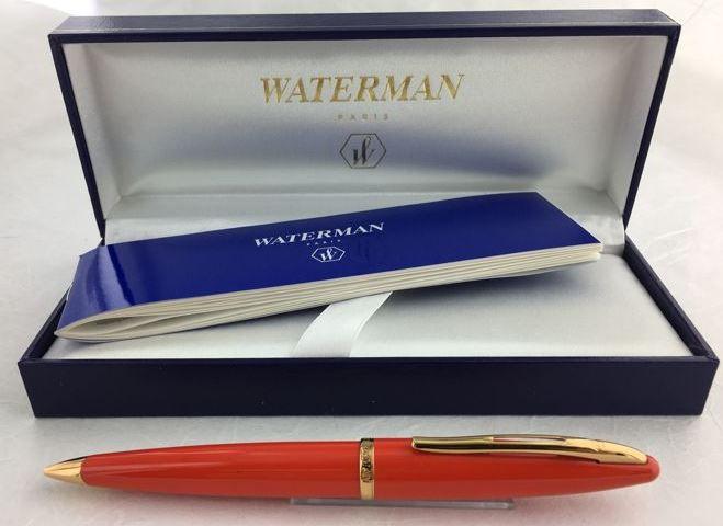 Caneta Waterman Carene Esferográfica Laranja Coral GT