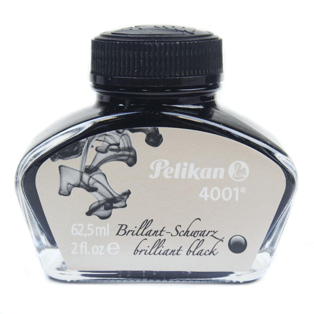 Pelikan Vidro de Tinta Preto Brilhante 62,50 ml.