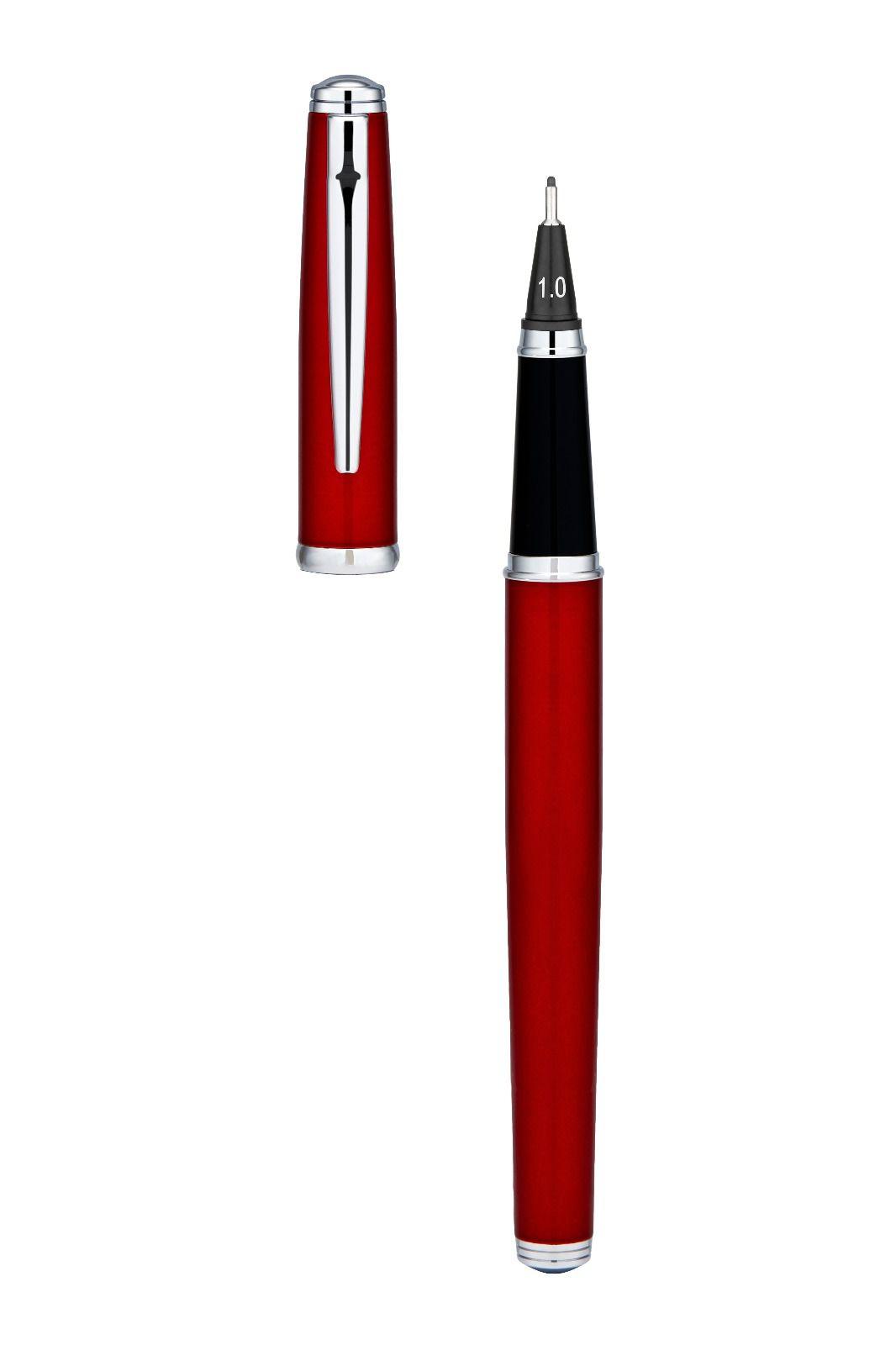 Yookers Fiberpen Corus Vermelha C/ Conversor De Tinta.
