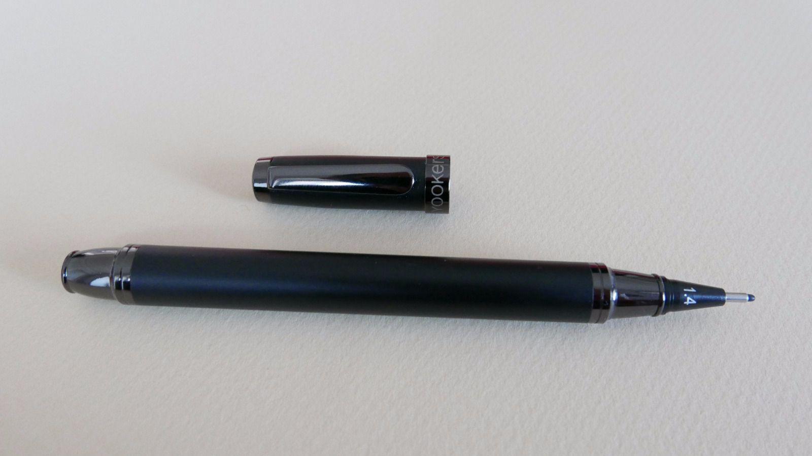 Yookers Fiberpen Elios preto fosco C/ Conversor De Tinta